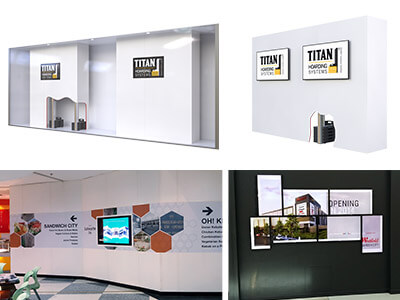 Display Wall-Electronic and General Media