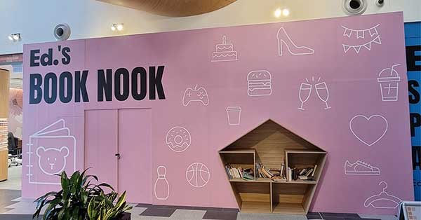 Ed's Book Nook Feature