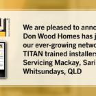 New Installer-Don Woods Homes