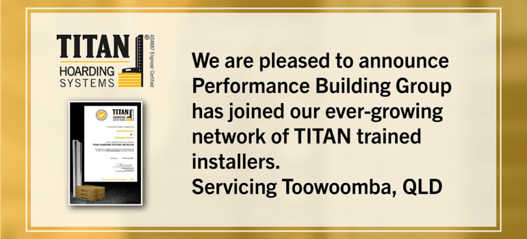 New Installer Performance Building Group
