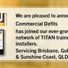 New Installer - Commercial Defits