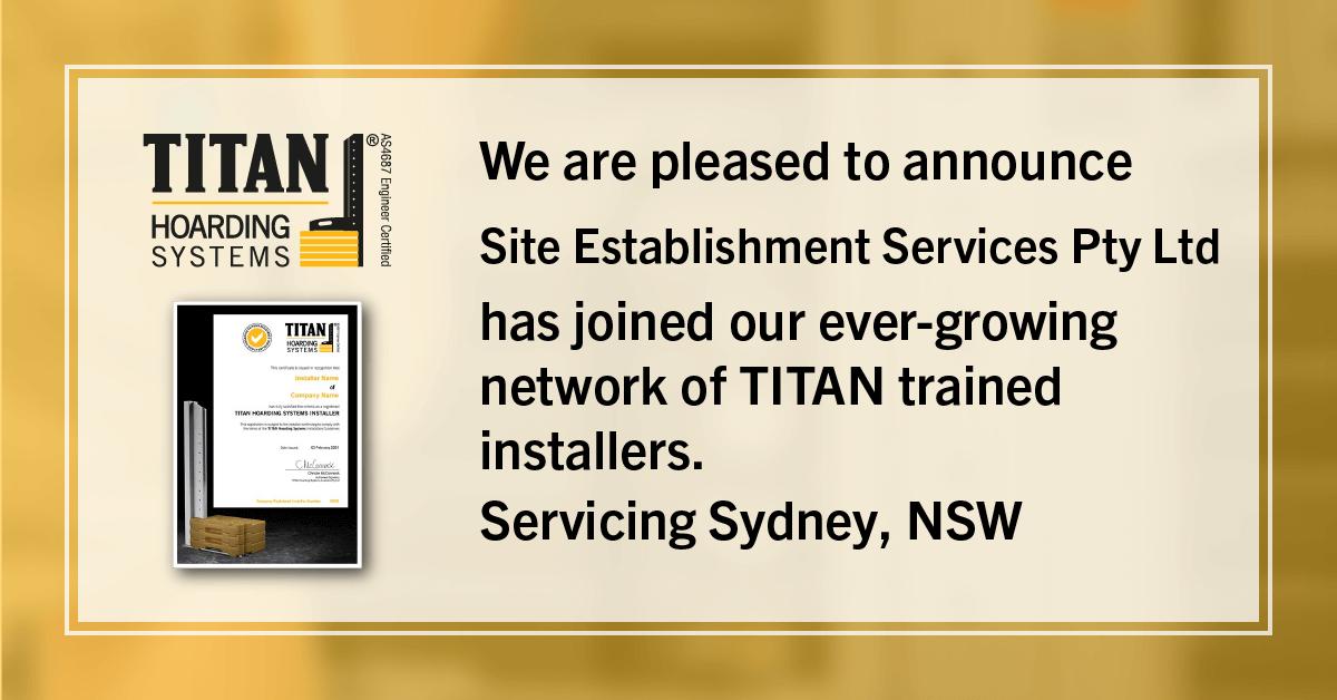 New Installer - Site Establishment Services
